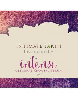 Intimate Earth Intense Clitoral Arousal Serum 3 Milliliter Foil Pack